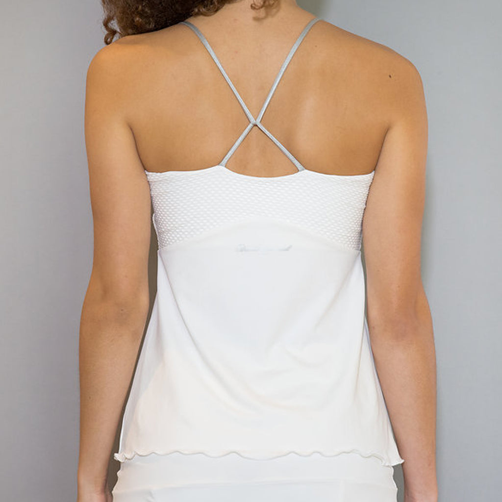 Whites Spaghetti-Strap Top