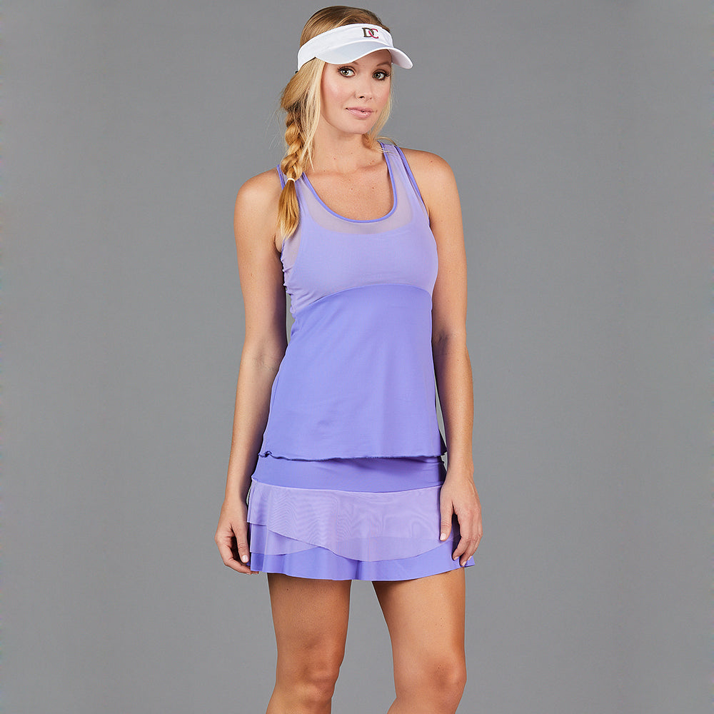 Juliette Layered Strap Top (lavender)