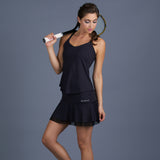 Blues Spaghetti-Strap Top (black)