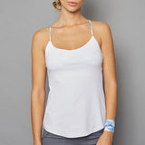 Scotia Spaghetti-Strap Top (white)
