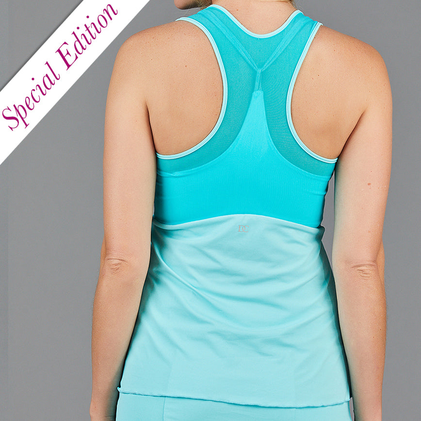 Juliette Layered Strap Top (turquoise)