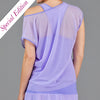 Juliette Mesh Layer Tee (lavender)