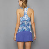 Scotia Tennis Dress (blue)