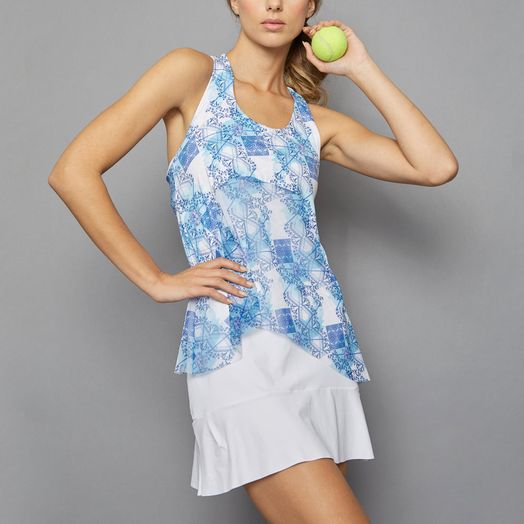 Scotia Tennis Dress (white)