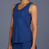 NY Square Tank Top (Navy)
