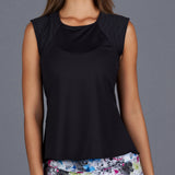 City Etch Tank Top (black)