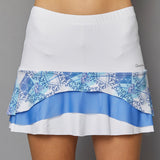 Scotia Tier Skort (white)