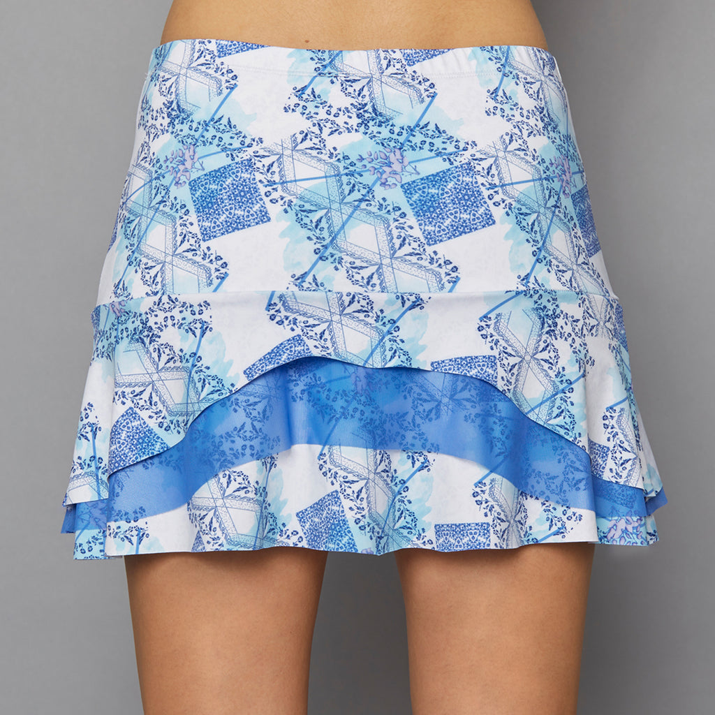 Scotia Tier Skort (print)