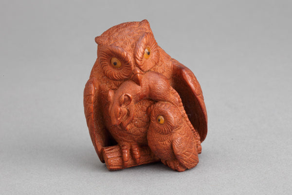 Owl, mouse and owelet