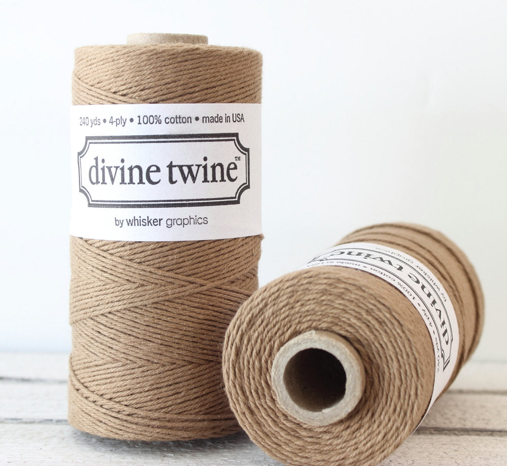 Brown Solid Divine Twine