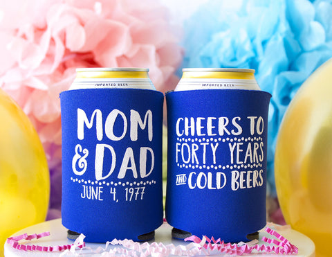 Anniversary Can Cooler