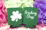 St. Patrick's Day Shamrock Can Cooler