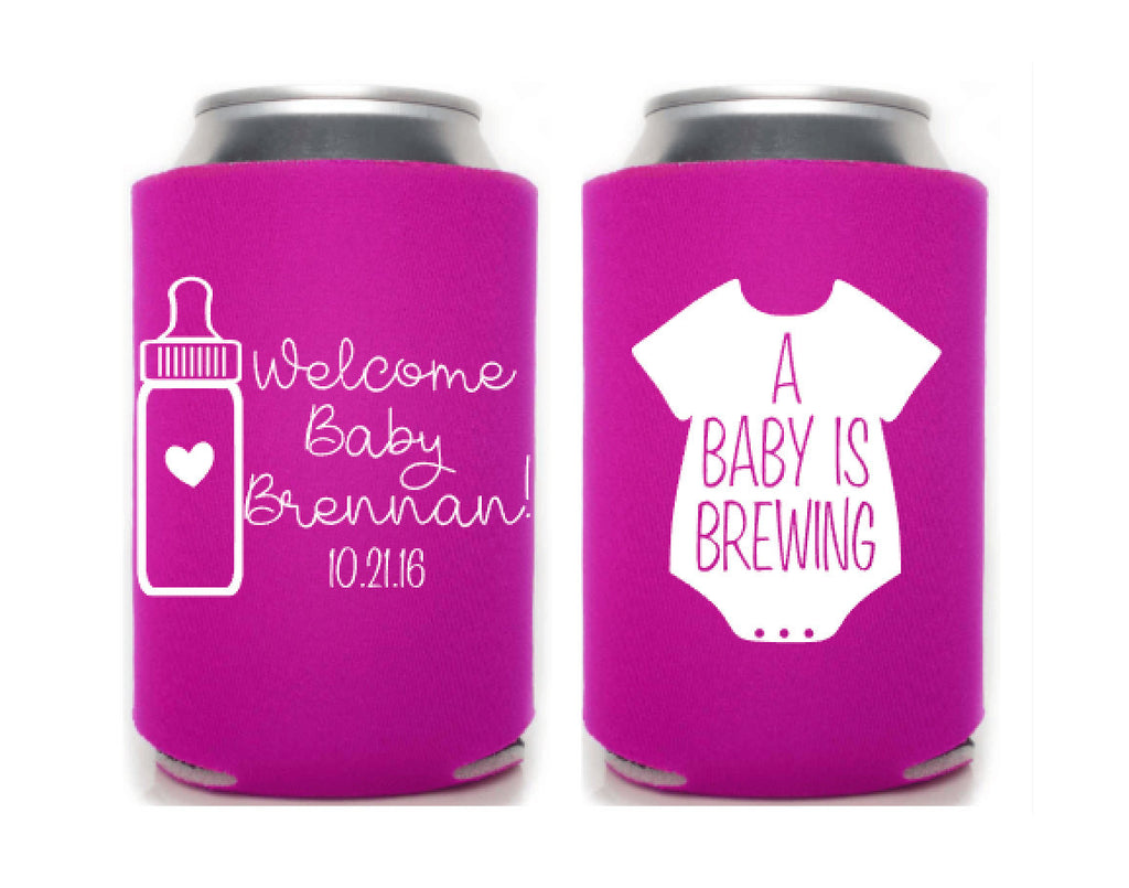 Baby Is Brewing Can Cooler
