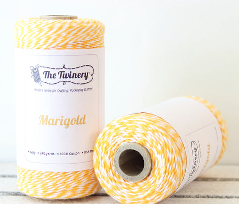 Yellow Stripe Twinery Twine