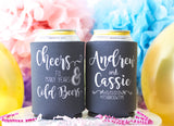 Cheers to Many Years & Cold Beers Wedding Can Cooler