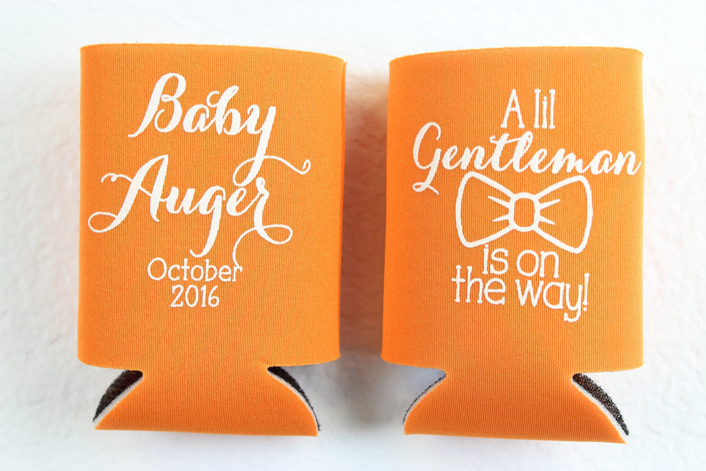 Baby Shower Can Cooler