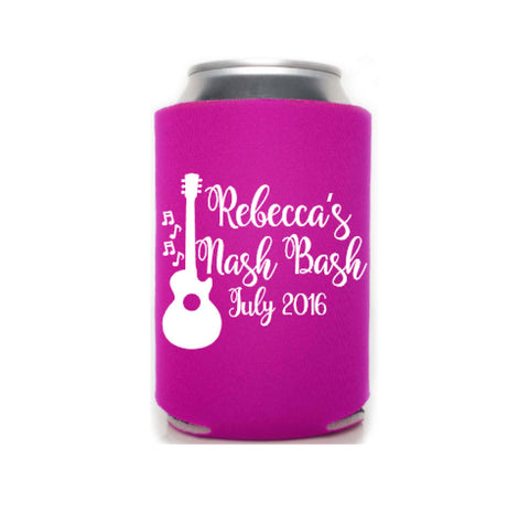 Nashville Bachelorette Can Coolers