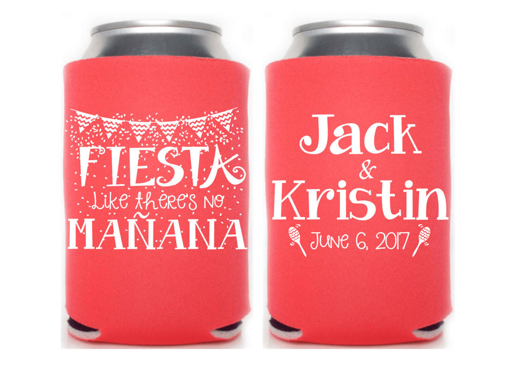 Fiesta Like There's No Manana Can Cooler