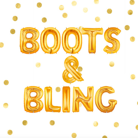 Boots & Bling Balloons