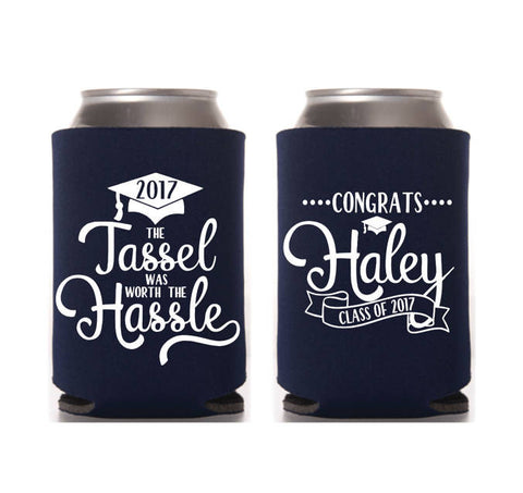 The Tassel is Worth the Hassle Graduation Can Cooler
