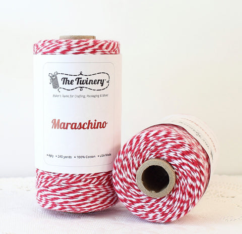 Red Stripe Twinery Twine