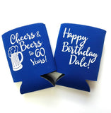 Happy Birthday Cheers Can Cooler