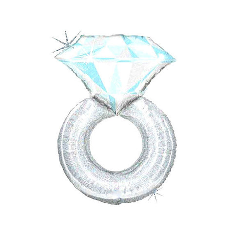 Platinum Diamond Ring Balloon