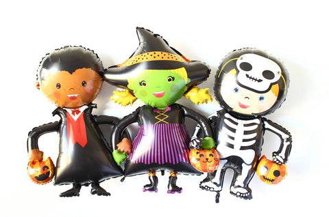Halloween Costumed Children Balloons