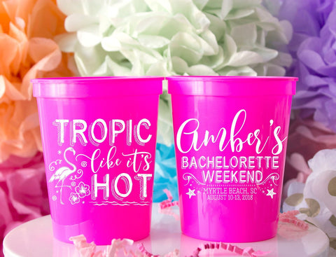 Bachelorette Cups