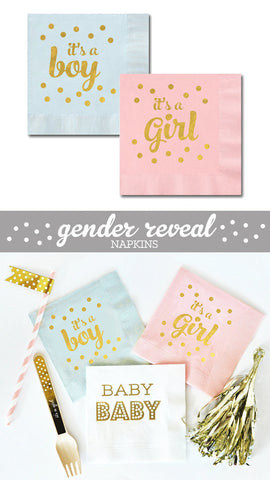 It's a Girl Napkins