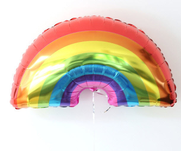 Large Rainbow Balloon