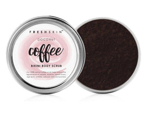 Bikini Body Coffee Scrub (Coconut Scent) - freshskin