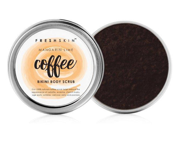 Bikini Body Coffee Scrub (Mandarin Lime) - freshskin
