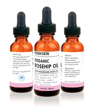 Extra Virgin Rosehip Oil (4 OZ) - freshskin