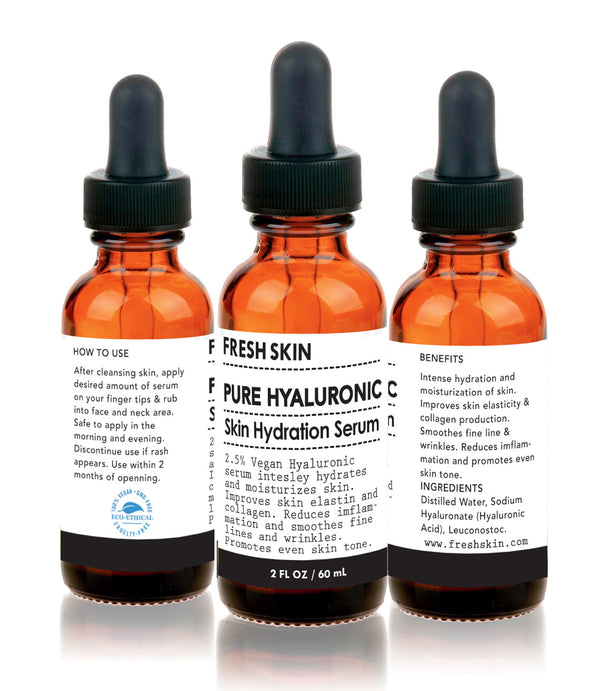 2.5% Hyaluronic Acid Serum - freshskin