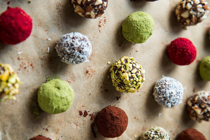 Natural Energy with Raw Avocado Maca Truffles