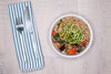 Lemon Herb Ratatouille w/ Farro - Vegetarian