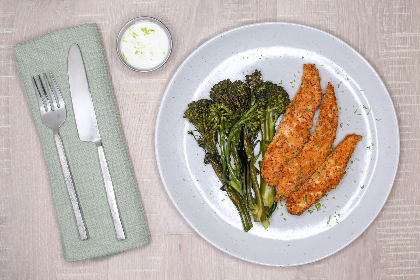 *NEW* Almond Crusted Chicken Strips + Paleo Ranch