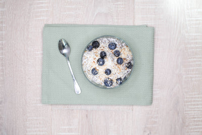 Coconut Blueberry Chia Pudding