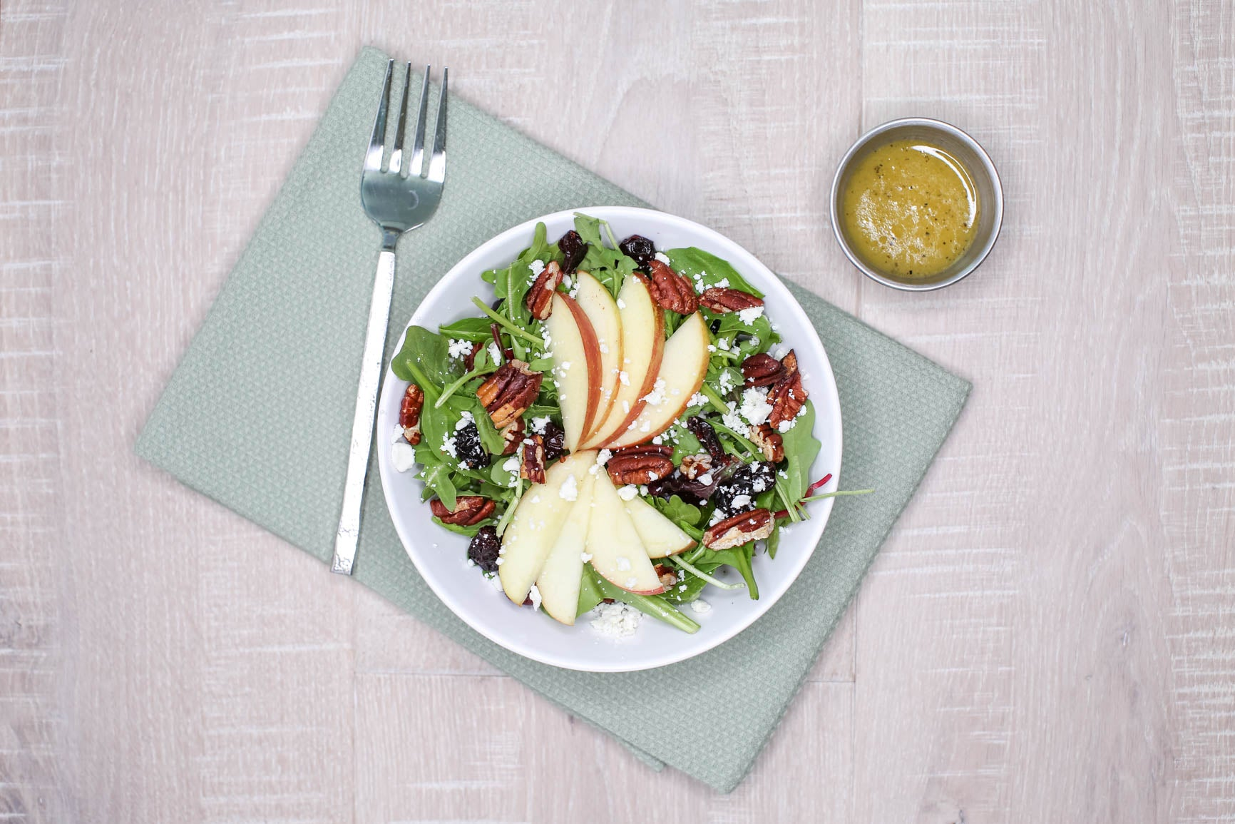 Apple, Pecan & Feta Salad