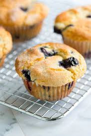 Blueberry Buttermilk Muffins (Gluten-free)