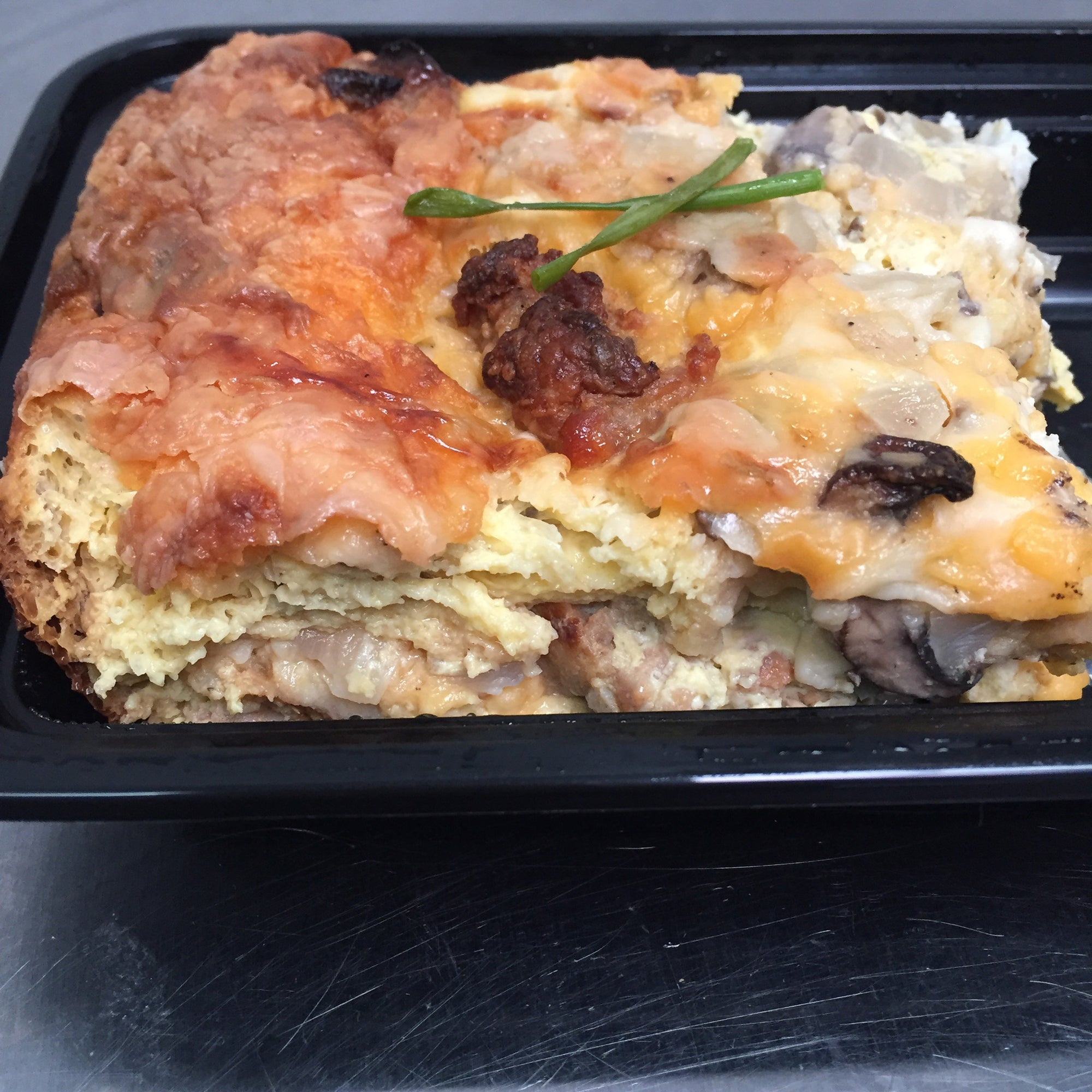 Mother's Day Special LARGE- Sausage & Dijon Breakfast Strata