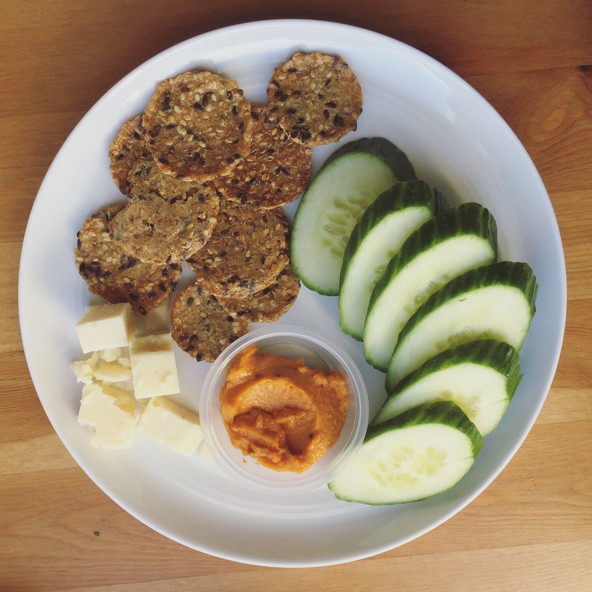 Snack Box -Mary's Gone Crackers (GF), Cucumbers & Aged Cheddar