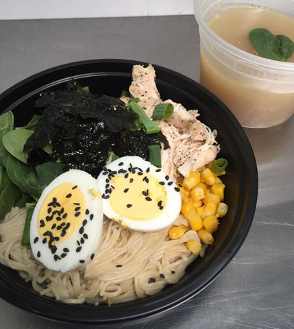 Chicken Miso Ramen Bowl