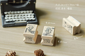 Cardlover Herbs Series Wooden Stamp
