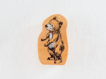 KODOMO NO KAO Bear Stamp