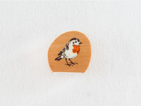 KODOMO NO KAO Standing Bird Stamp