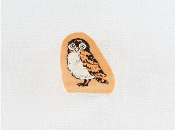 KODOMO NO KAO Brown Owl Stamp
