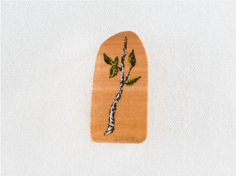 KODOMO NO KAO Tree Branches Stamp