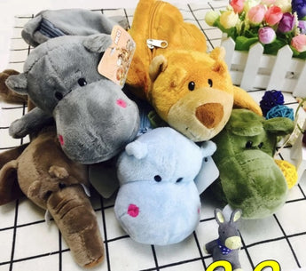 Soft Toys Pencil Case (No.1 - No.14)